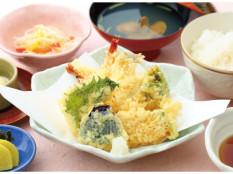 おひるのお品書き「天ぷら膳」