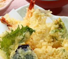 福重の平日ランチ「天ぷら膳」