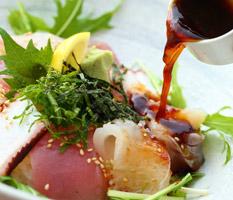 福重の平日ランチ「海鮮丼」
